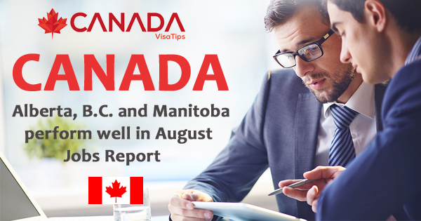 Canada: Alberta, B.C. and Manitoba perform well in August Jobs Report