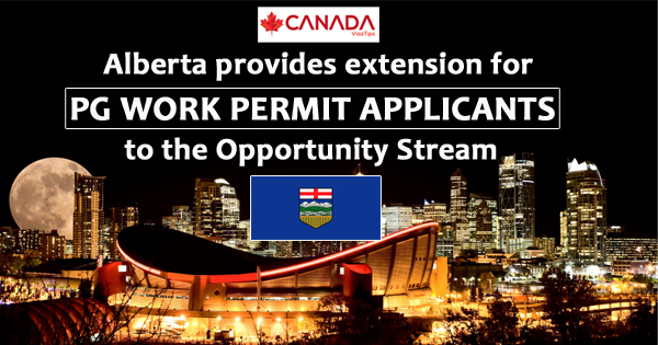 Alberta provides extension for PG Work Permit applicants to the Opportunity Stream