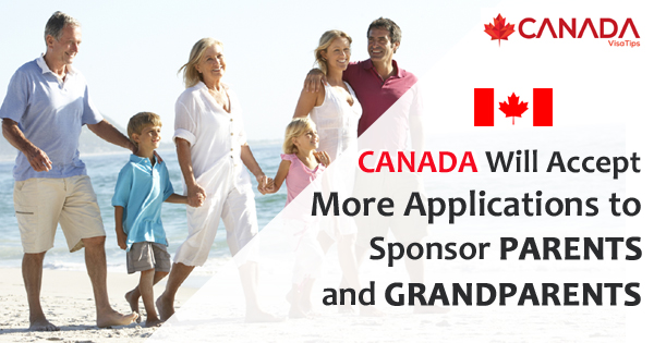 Canada Will Accept More Applications to Sponsor Parents and Grandparents