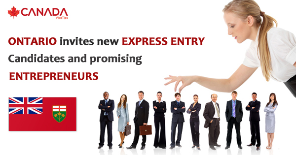 Ontario invites new Express Entry candidates and promising entrepreneurs