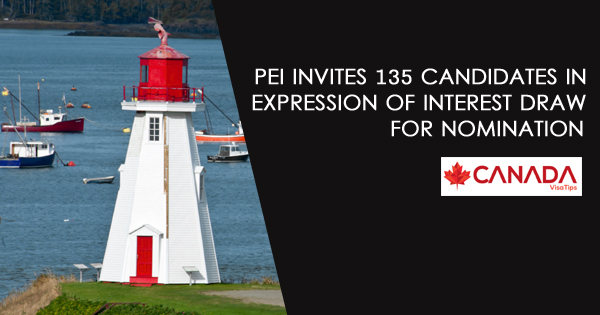 PEI INVITES 135 CANDIDATES IN EXPRESSION OF INTEREST DRAW FOR NOMINATION
