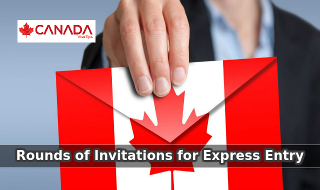 Rounds of Invitations for Express Entry