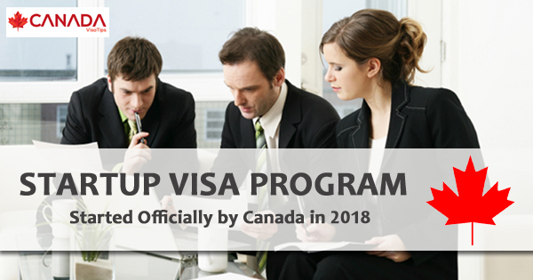 Startup Visa Program Started Officially by Canada in 2018
